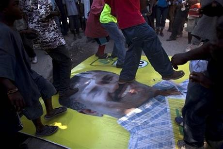 Jude Celestin would not make it through to a presidential run-off!! Haiti_Disease_Outbreak-election_protests460