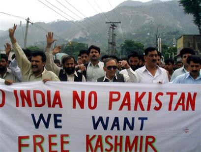 Issue Between India and Pakistan Kashmir