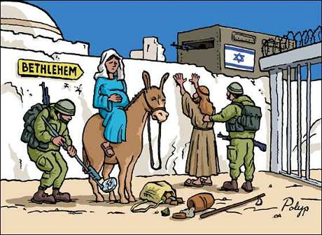 Print Christmas Story Mary And Joseph In Palestine 2010