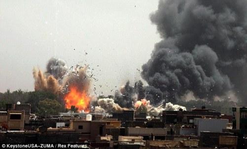 US, NATO destruction of Libya