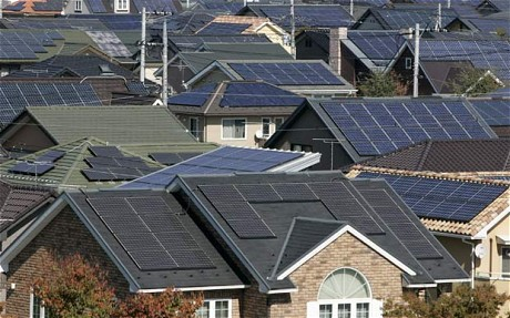 Solar Panels To Be Fitted In All Japan S New Homes And