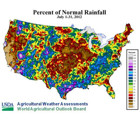 Historic US drought deepens On par with the Dust Bowl of 1934