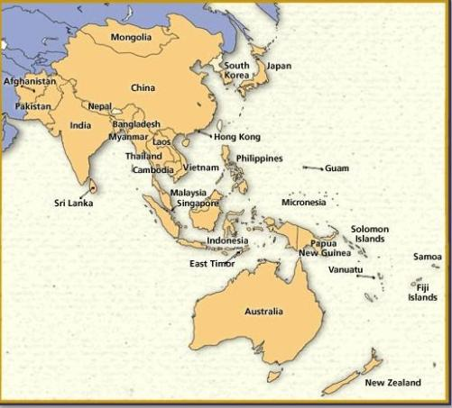 Map Of Australia And Neighbouring Countries.Australia The Humanitarian Nation Human Rights Axisoflogic Com