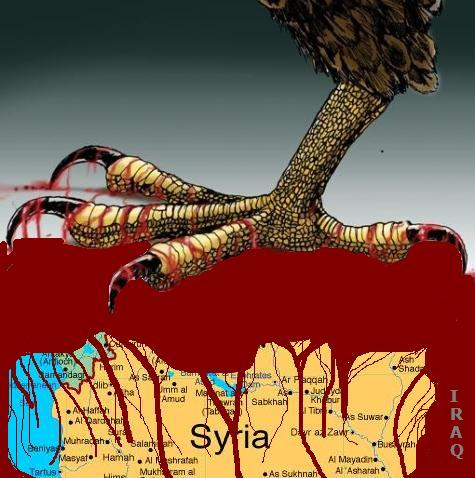 Imperialism limbering up for a predatory war against Syria