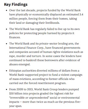 print:How The World Bank Broke Its Promise To Protect The Poor