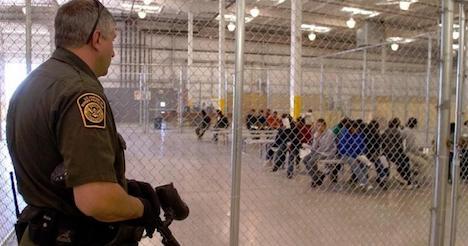 US quarantines over 2,200 migrants amid 'unprecedented